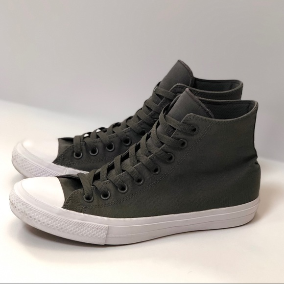569cd0b9dc0039 Converse Other - Converse II Gray High-Top Sneakers
